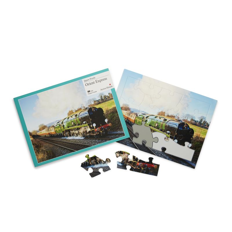 Active Minds Orient Express Dementia Jigsaw Puzzle (13 Pieces)